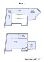 Plan Loft 1