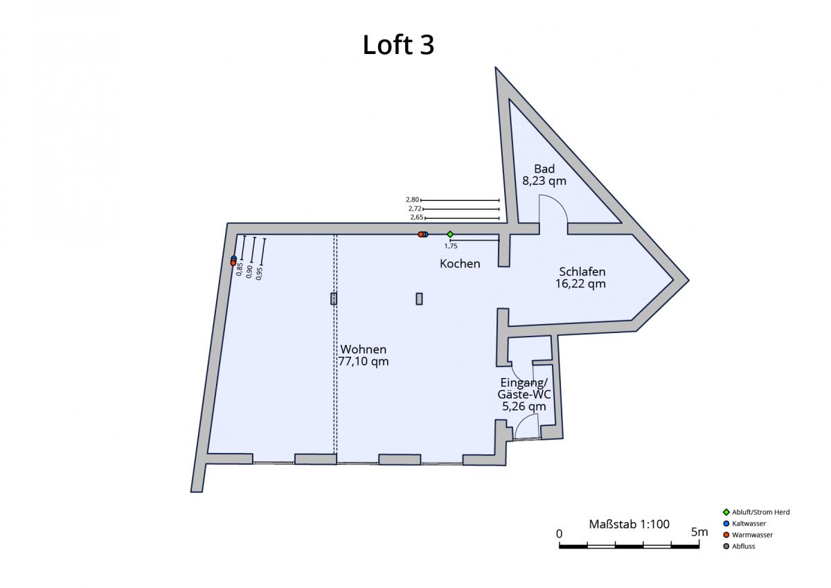 Plan Loft 3