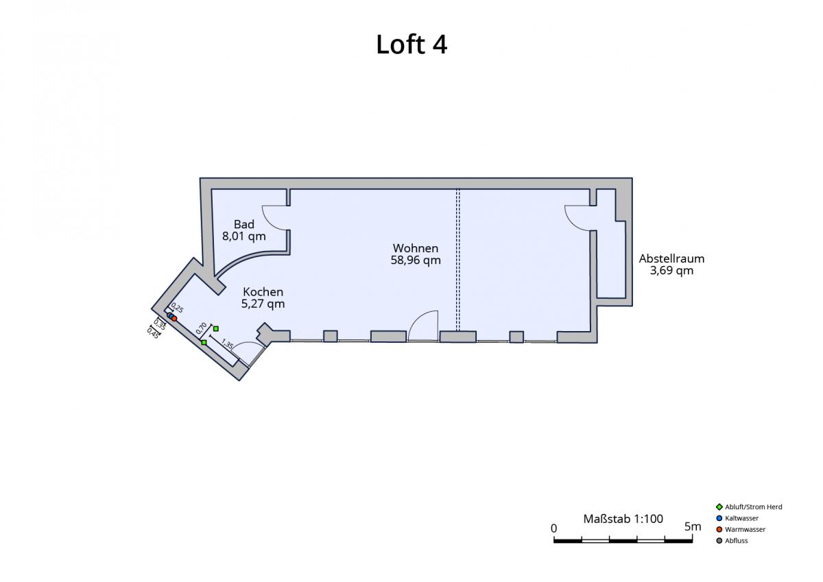 Plan Loft 4