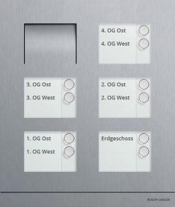 Bild Aufteilung Klingel